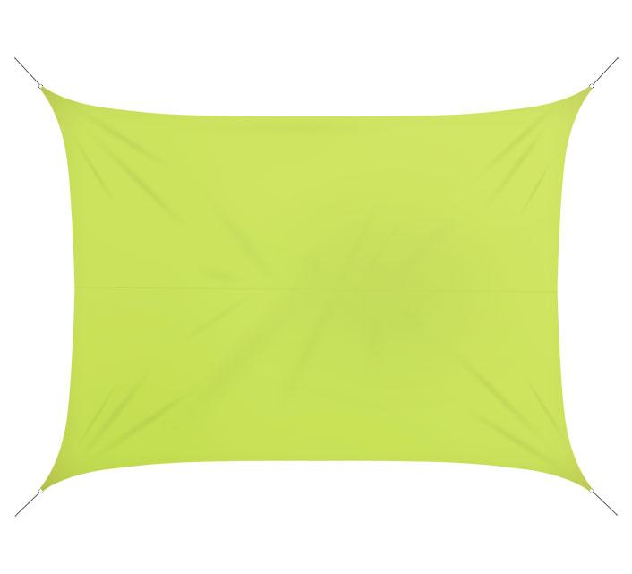 https www salondete fr produit 523 voile rectangulaire voile d ombrage rectangulaire 4x3 m vert anis 180gm2