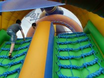 safety features-bouncy castle