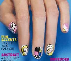 Nail Art Gallery Magazine April 2013