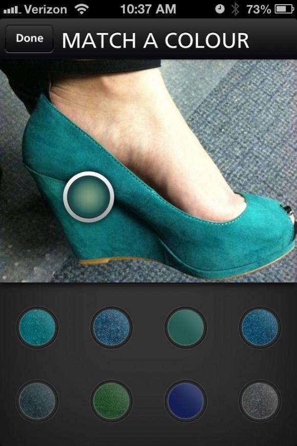 China Glaze iPhone app