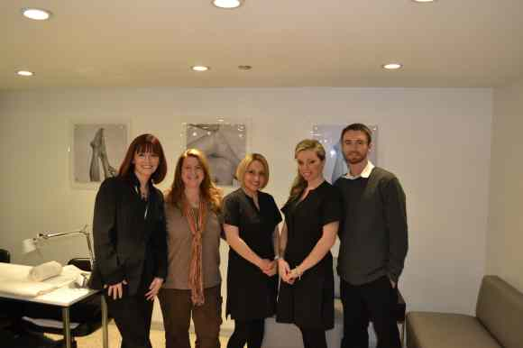 Salon Fanatic editors at Mario Tricoci