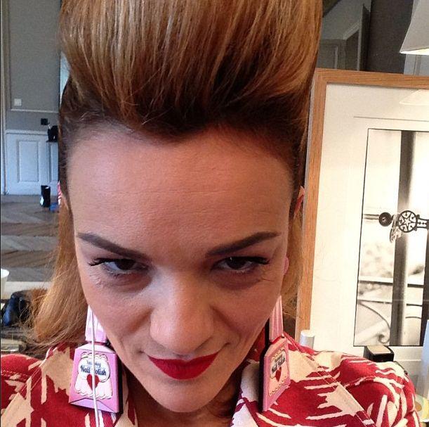 Ya Bukey polish earrings
