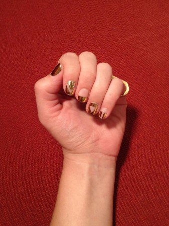 Rad-Nails-gold-back-to-basics-2