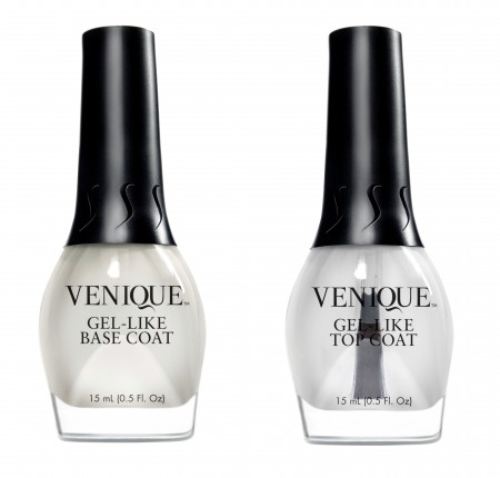 Venique top and base coats