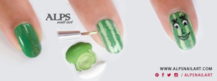 how-to-watermelon-nails