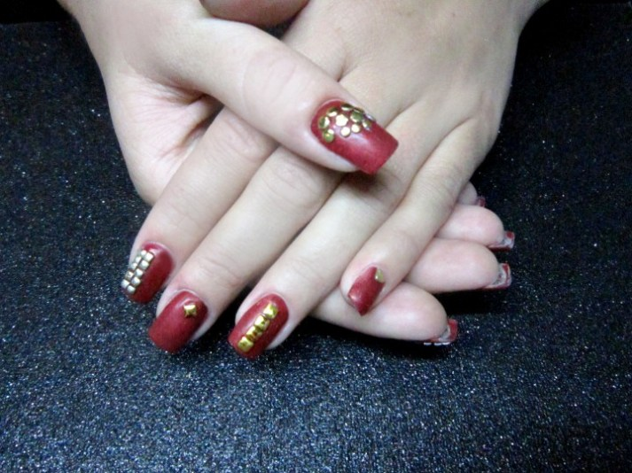Embellished Nail Art