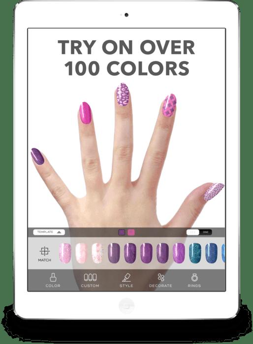 Virtual Nail Salon