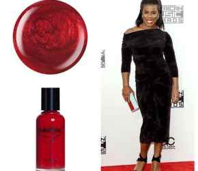Red Carpet Nails: AMA Nailtini
