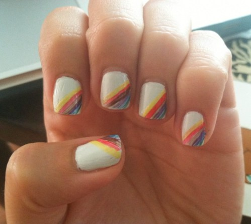 Salinger nail art