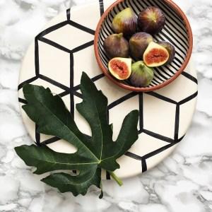 Casa Cubista Keramik Portugal Servierplatte Kuchenplatte Cubes