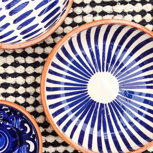 Casa Cubista Keramik Schälchen blau-weiss Portugal