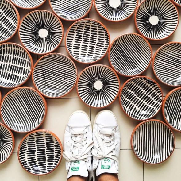 Casa Cubista Keramik Schälchen Portugal