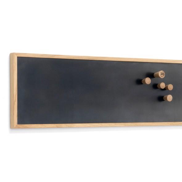 Magnettafel, Memoboard aus Schwarzstahl, Größe S von The Oak Men
