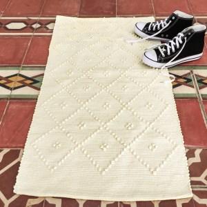 Casa Cubista Webteppich aus Baumwolle