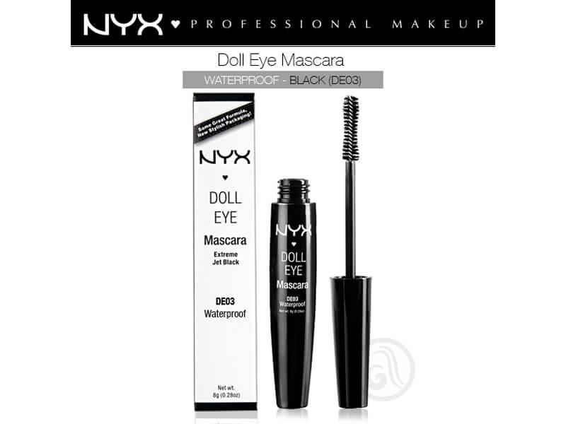 3b91248b29c Nyx Professional Makeup Doll Eye Maskara De03 Waterproof Black