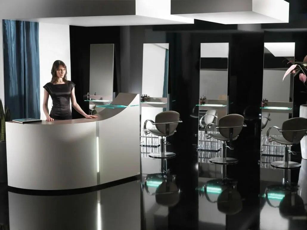 Portfolio Salon Interior Design