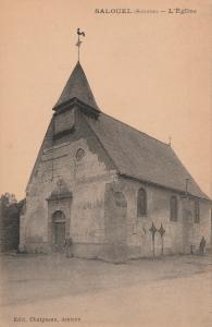 Chapelle saint Quentin en 1916