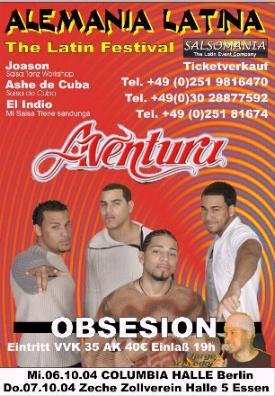 Aventura & Ashe de Cuba live in Essen