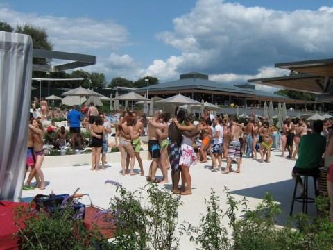 Salsafestival Kroatien 2013 Amarin Beach Party