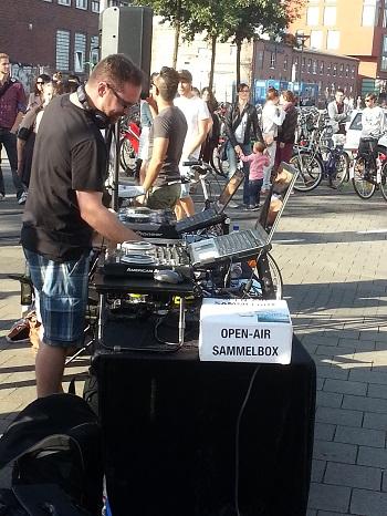 Salsa Open Air am Hafen Münster