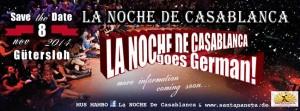 Noche de Casablanca – Gütersloh