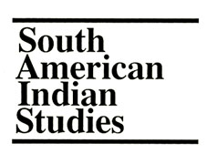 South American Indian Studies