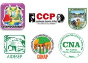 organizaciones indígenas Amazonas Perú