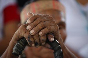 A man in Puerto Maldonado