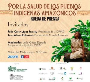 rueda de prensa por la salud de los pueblos indígenas amazónicos OPIAC_THUMB