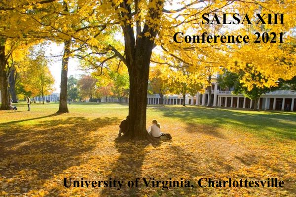 SALSA XIII Biennial Conference - Call for submissions