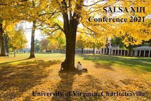 SALSA 2021 - Deadline extended for panel/workshop proposals (10-31-20)