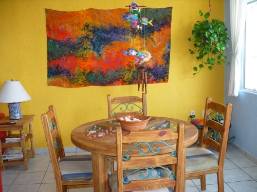 Villas Morelos 1 dining room