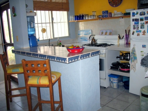 Typical low cost Mexican kitchen