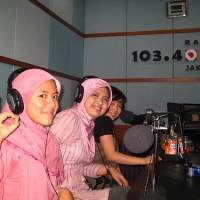 I'm on D-Radio & Majalah Marketing