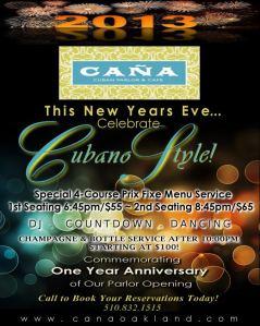 Cana Cuban New Years