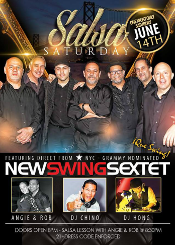 New Swing Sextet June 2014