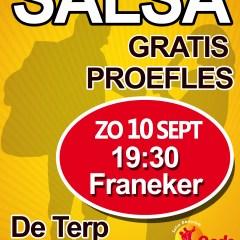 Proefles Salsa in Franeker zondag 10 september