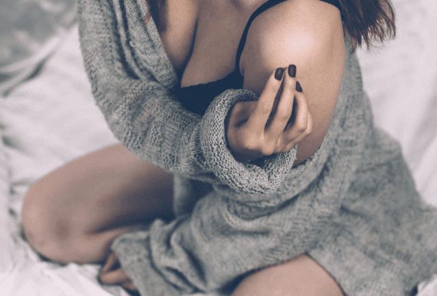 woman seminude