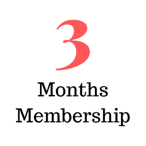 3 Months Membership (Subscription)