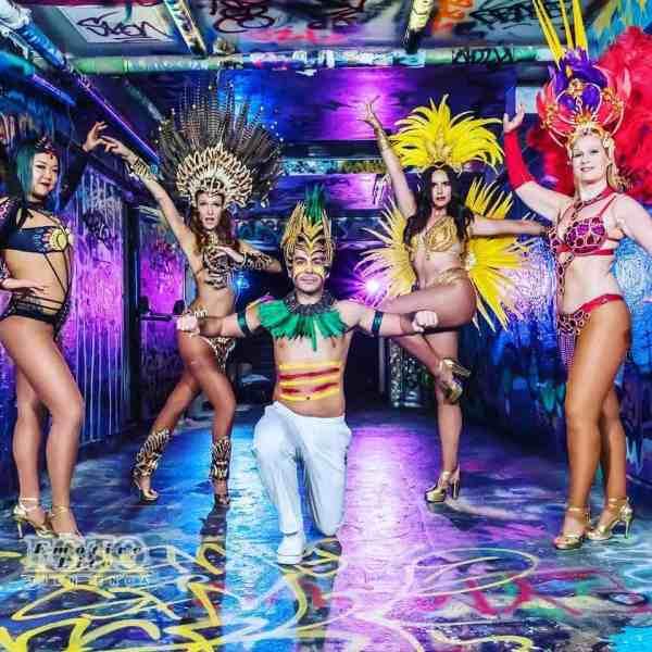 samba showcase photoshoot