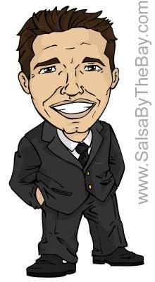 Ricardo Sanchez Caricature