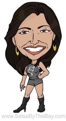 Michelle Castro salsa