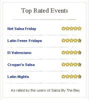 Top 5 Salsa Events