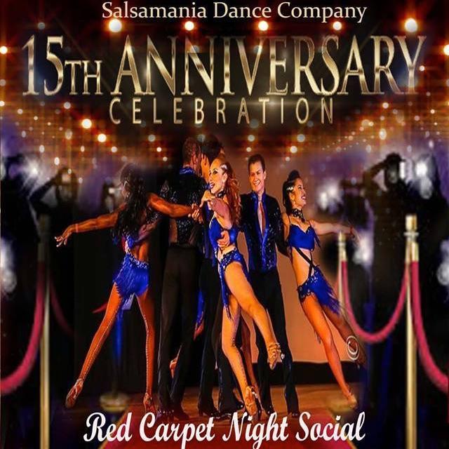 Salsamania 15 Year Anniversary Social