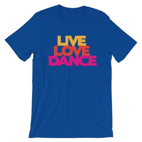 Live Love Dance Womens T-Shirt