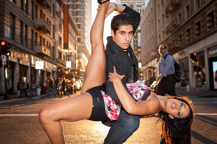 Sexy Salsa Dancing