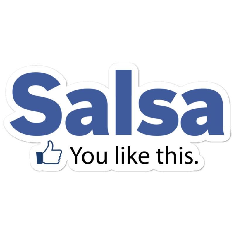 Salsa Like Sticker