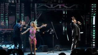 El Faraón de la salsa interpretó éxitos como 'Hechicera' y 'Mi bajo y yo'. (Foto: EFE)