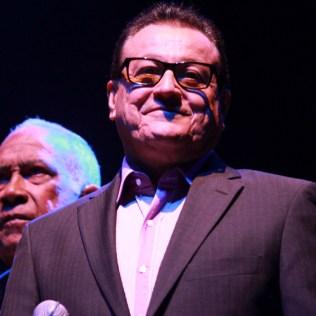 Ismael Miranda cantó 'Abran paso' y 'Señor sereno'. Un día inolvidable. (Foto: Diego Toledo)