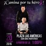 Víctor Manuelle convoca a caminata contra el Alzheimer en Puerto Rico
